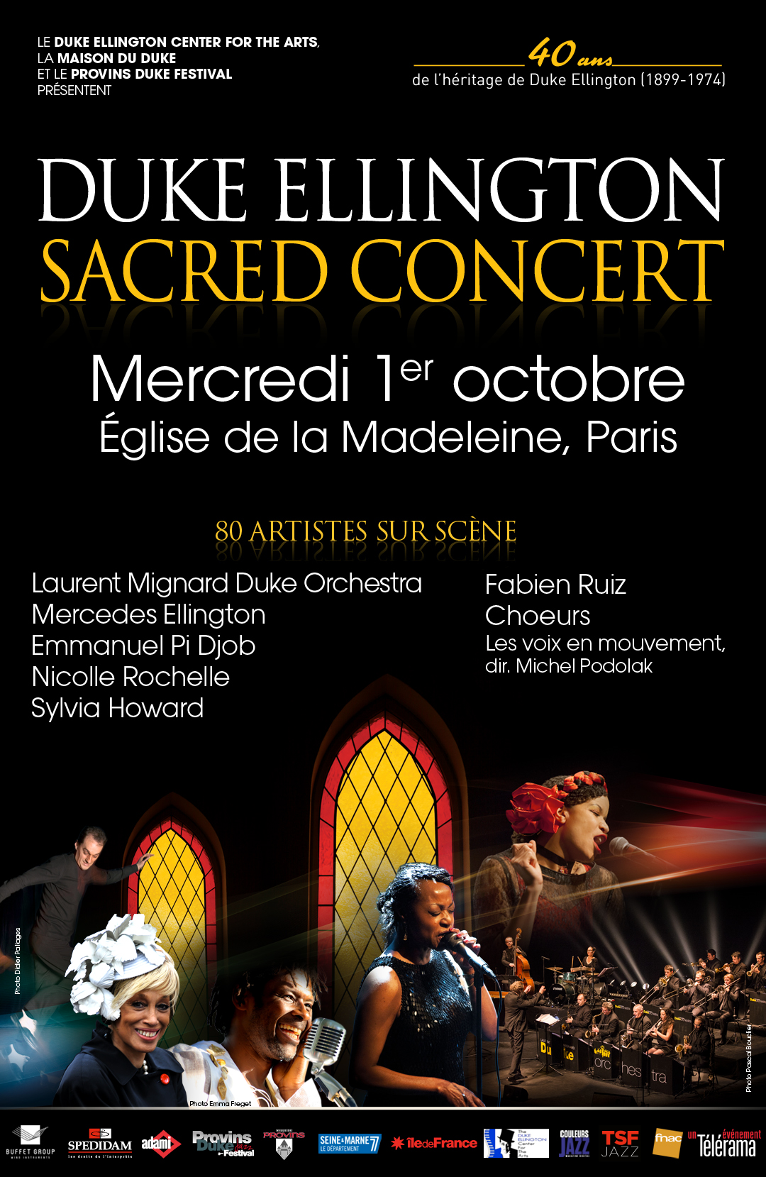 Duke Ellington Sacred Concert Paris